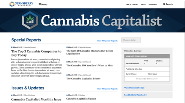 Cannabis Capitalist Review (Actual Member) Review