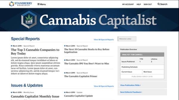 Cannabis Capitalist Review