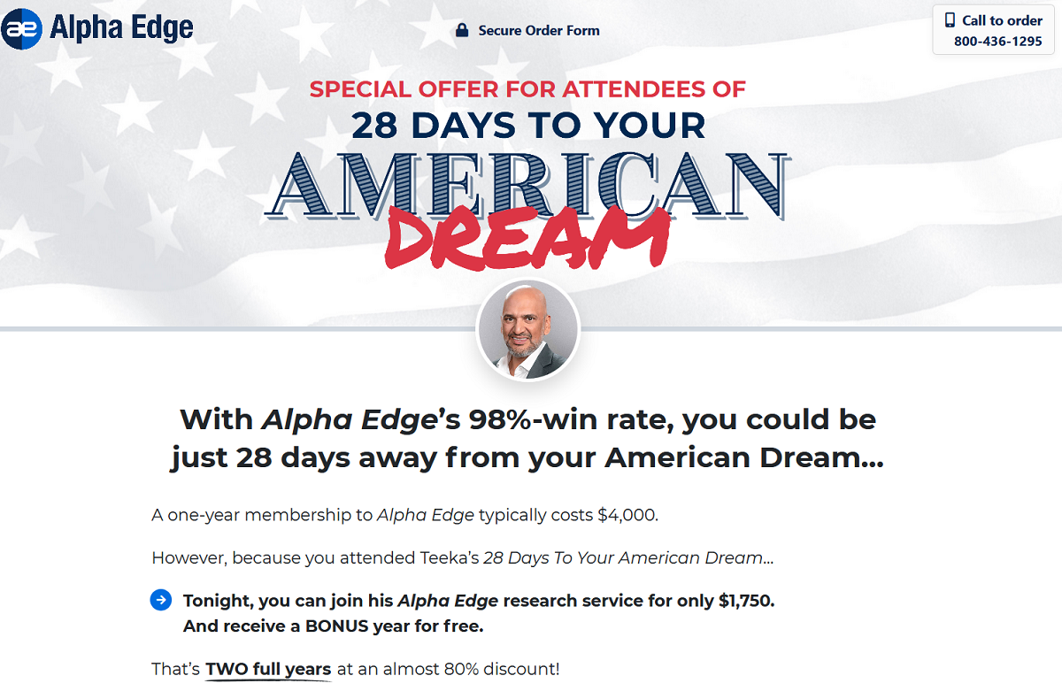 Alpha Edge Method Review – Teeka Tiwari's Big Investment Breakthrough