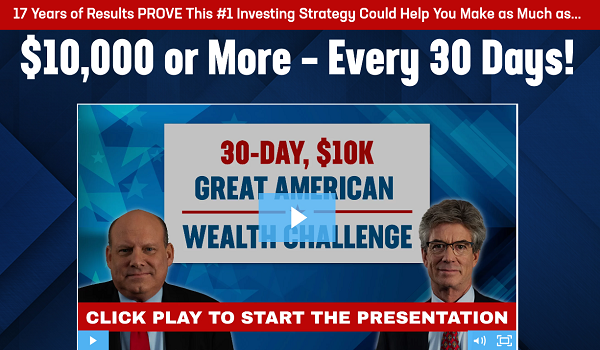 30-DAY GREAT AMERICAN WEALTH CHALLENGE