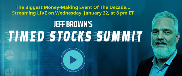 Jeff BrownTimed Stocks Summit