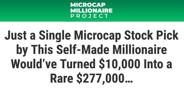 Matt McCall's Microcap Millionaire Review