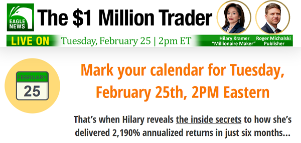 Hilary Kramer's $1 Million Trader