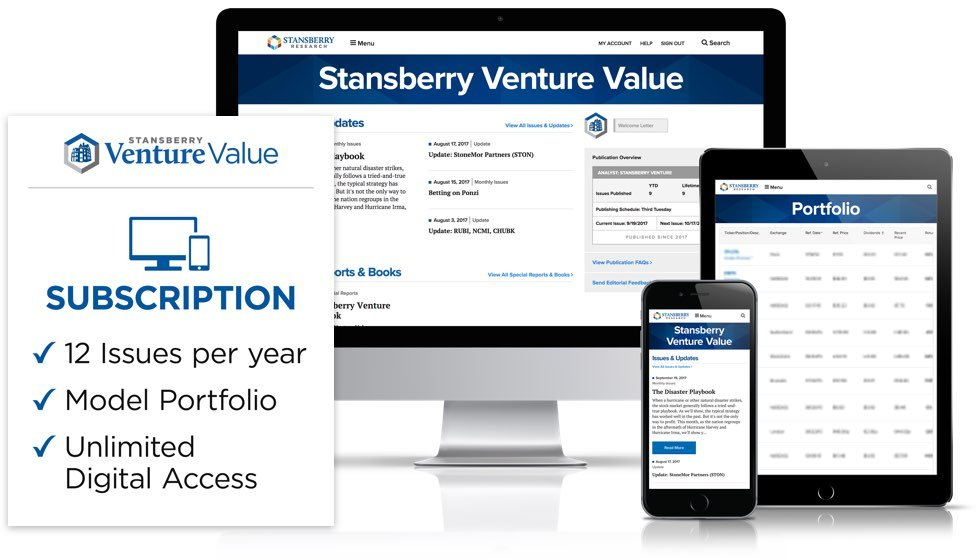 Stansberry Venture Value Review