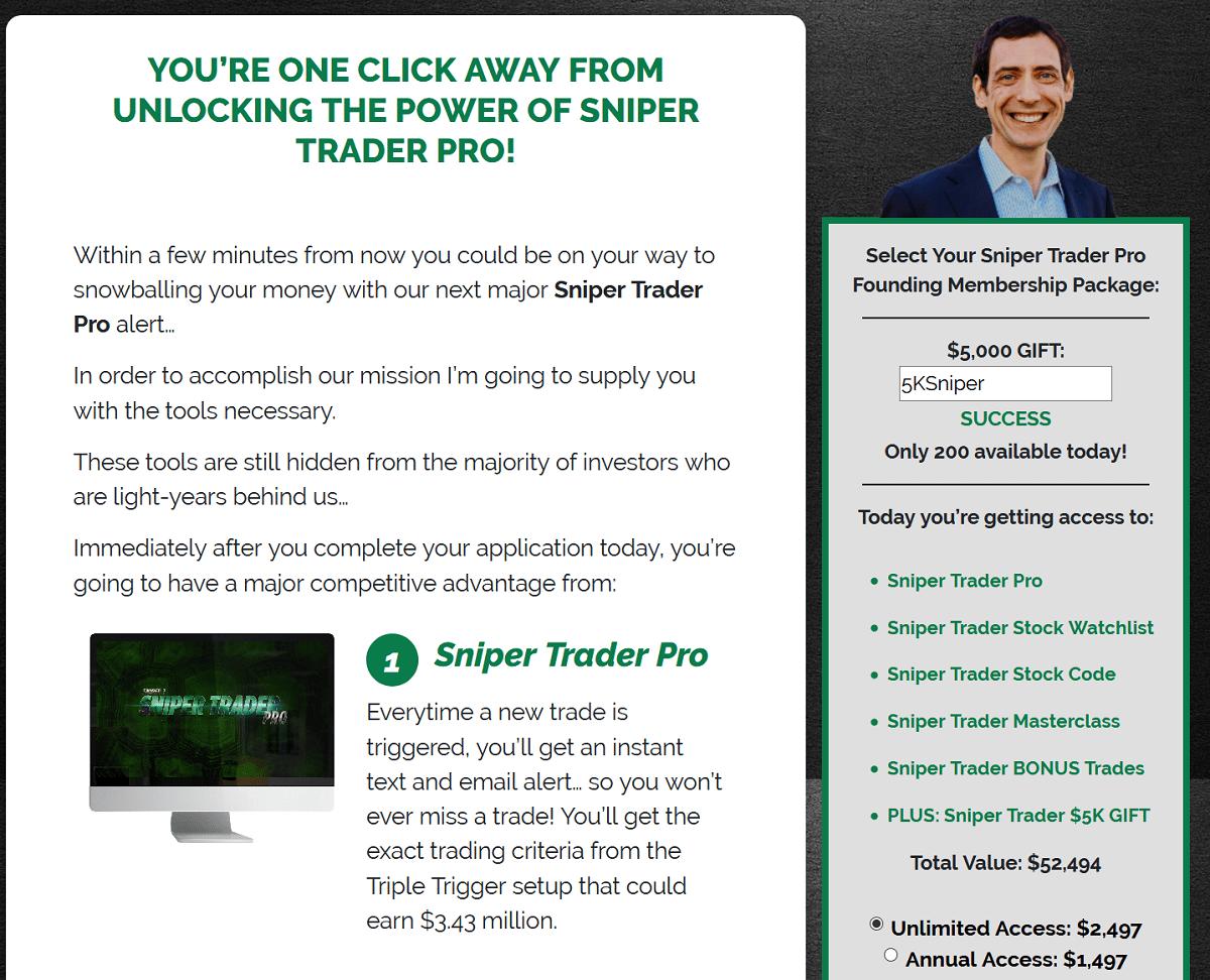 Roger Scott's Sniper Trader Pro Review