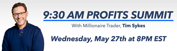 Tim Sykes Morning Profits
