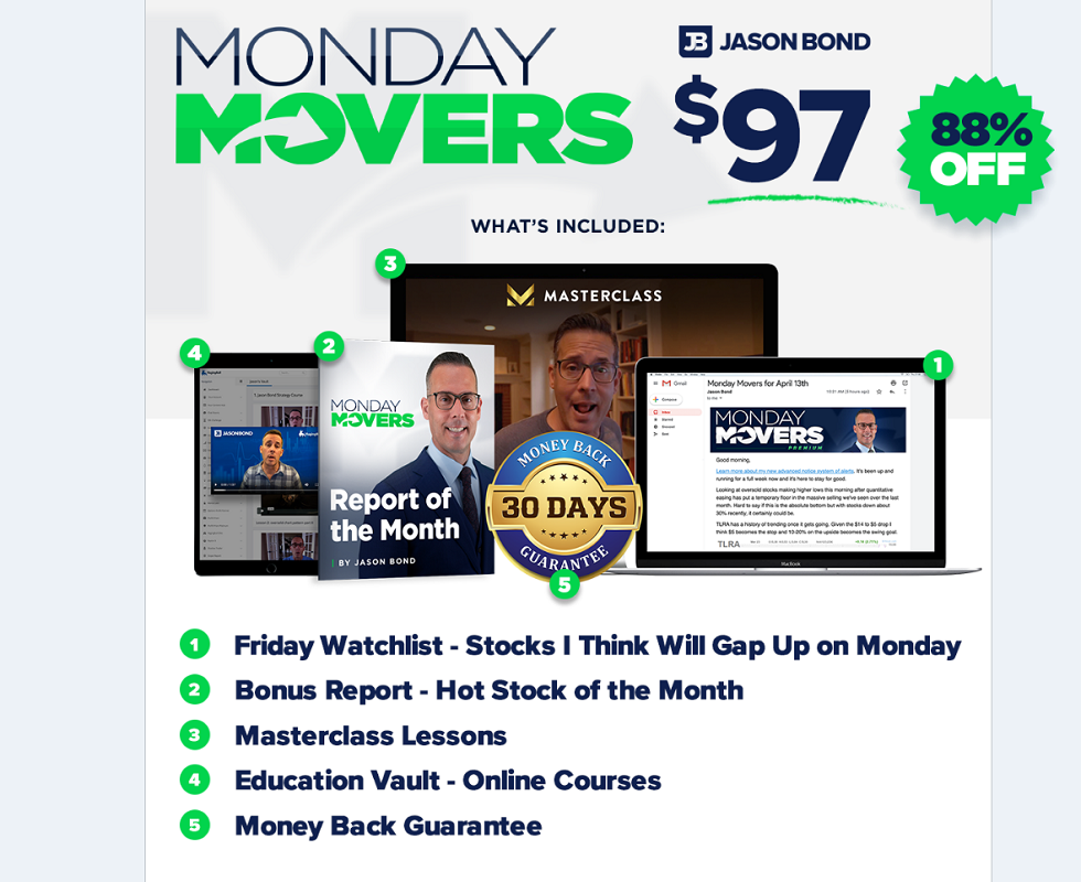 Jason Bond Monday Movers Review (REAL MEMBER REVIEW!) – 2020
