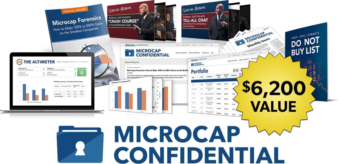 Joel Litman's Microcap Confidential Review