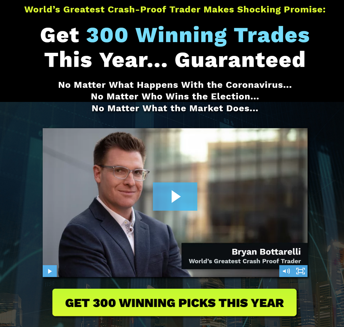 Bryan Bottarelli War Room Review: Overnight Trades Legit or Scam?
