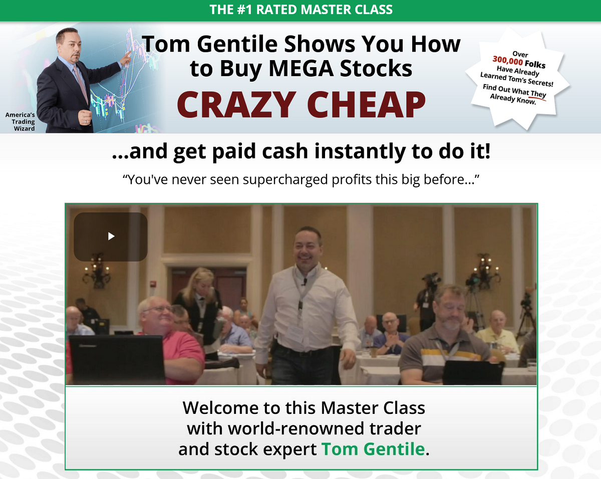 Tom Gentile's Million Dollar Master Class – Is It Worth Your Money?