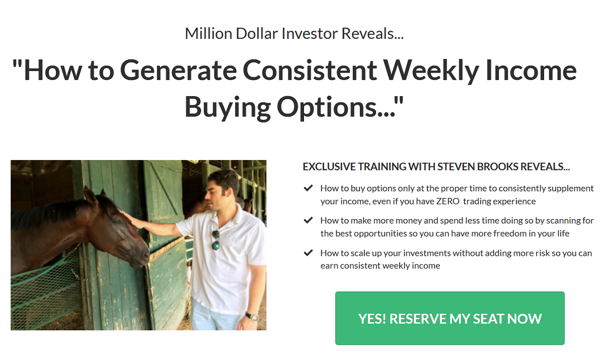 Steven Brooks Consistent Trader Review