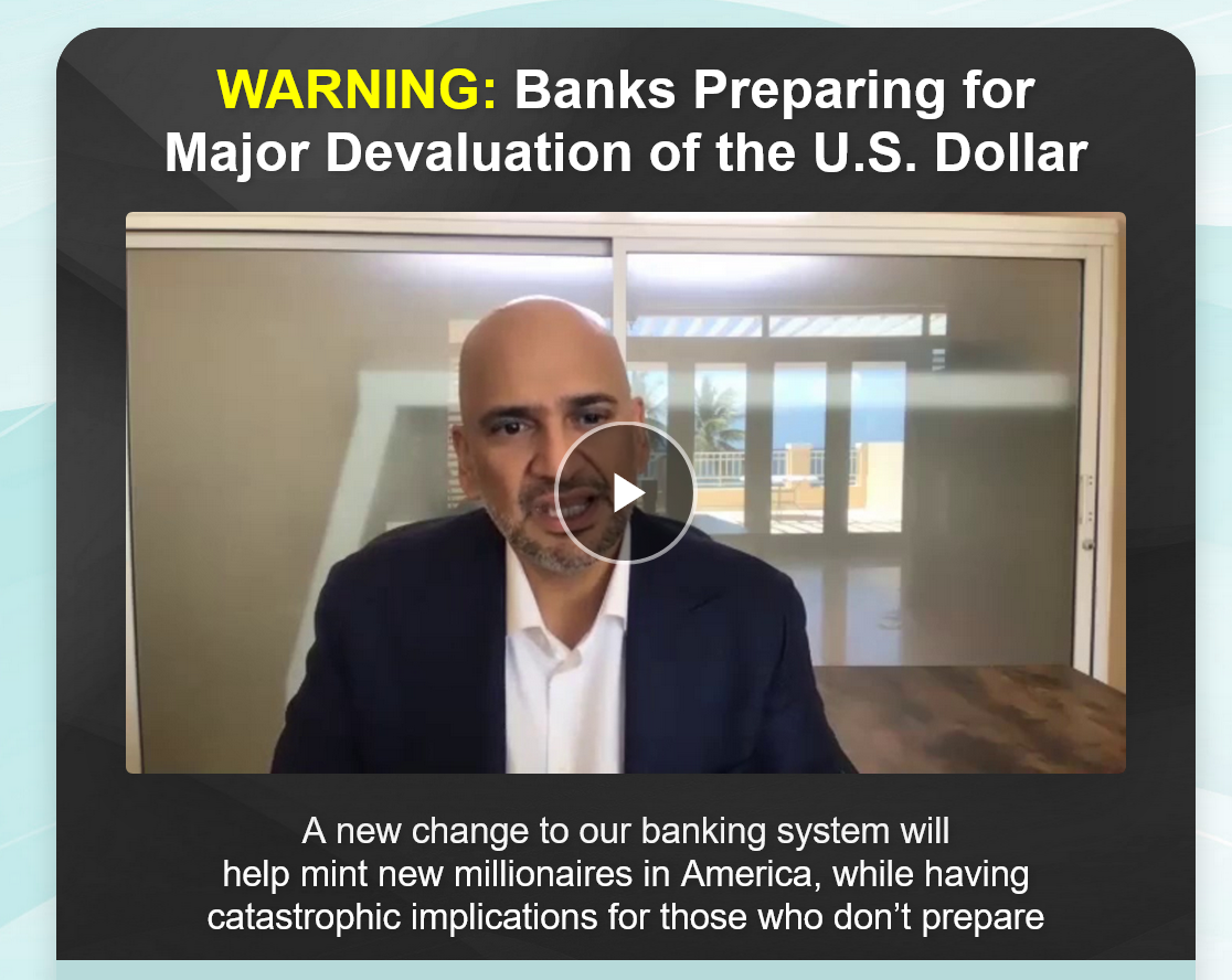 Teeka Tiwari Palm Beach Letter: What's The New Banking Rule Set to Affect 234 Million Americans?
