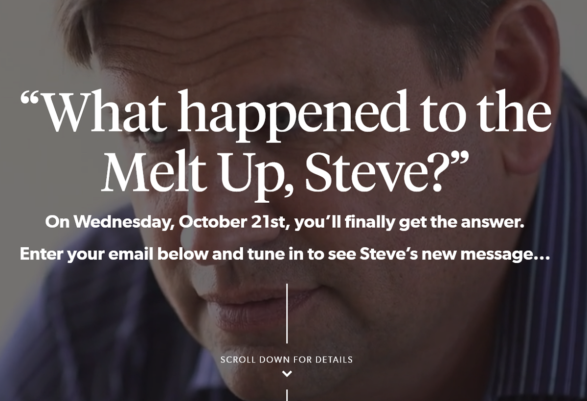 Dr. Steve Sjuggerud's State of the Melt Up Event