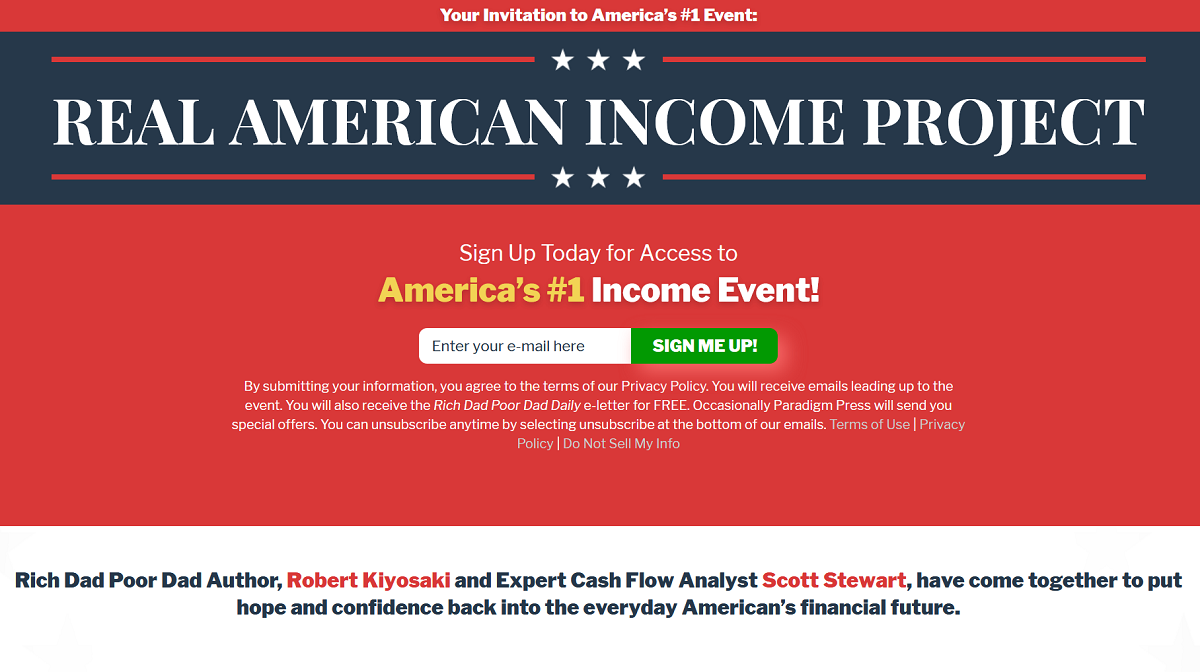 """The Real American Income Project: Rich Dad's Weekly Cash Flow """"Trapping Stocks""""(Robert Kiyosaki and Scott Stewart)"""