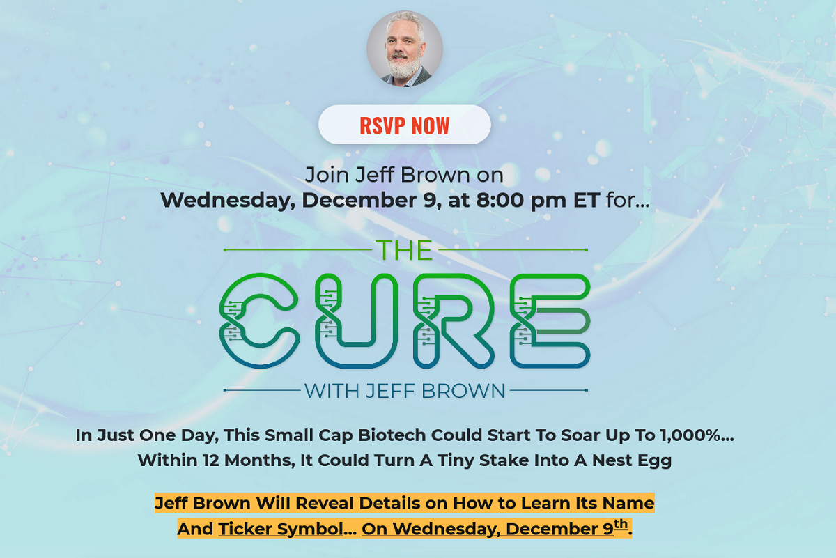 Jeff Brown's The Cure Event: Details And Registration