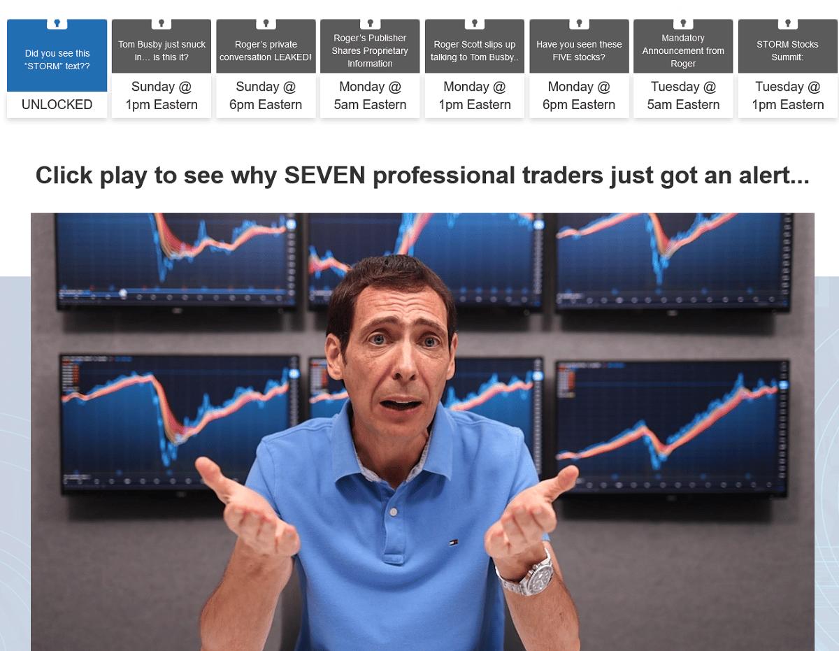 Roger Scott's Storm Stocks Summit Review - Is It Legit?