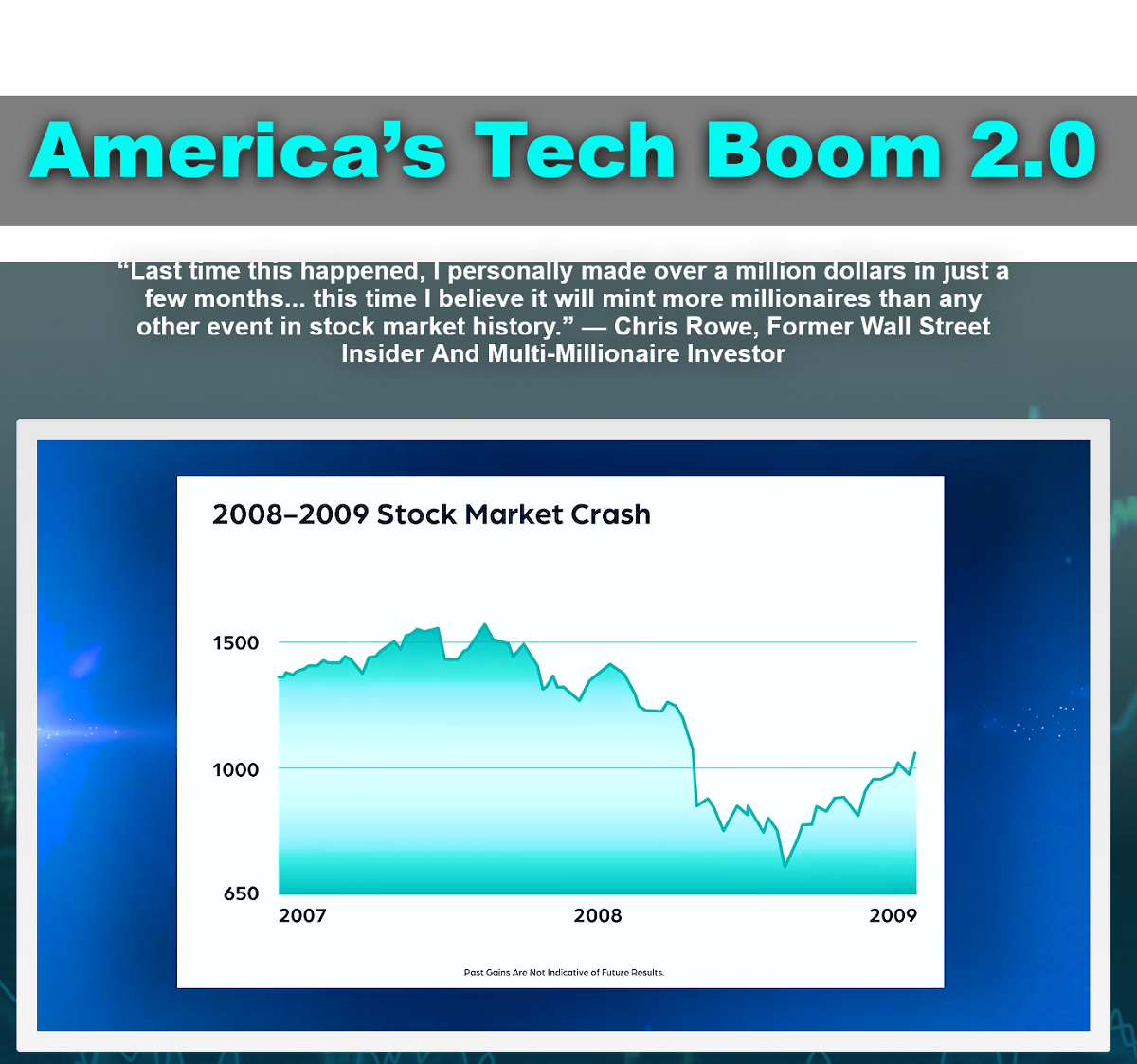 What Is America's Tech Boom 2.0: Chris Rowe's Sector Focus Review