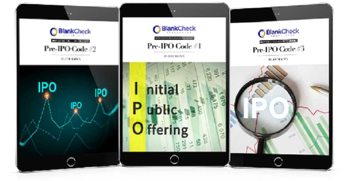 """Blank Check Speculator: Jeff Brown's Top 3 """"Pre-IPO Codes"""""""