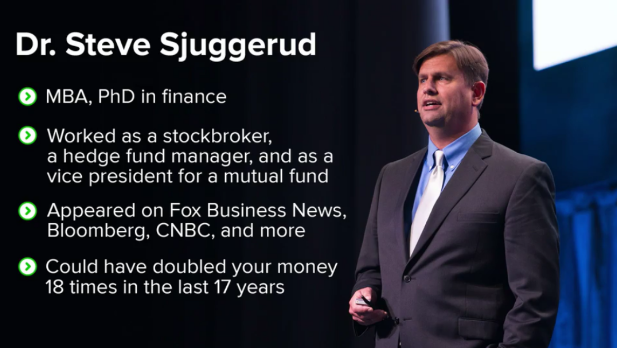 Dr. Steve Sjuggerud #1 Stock for 2021