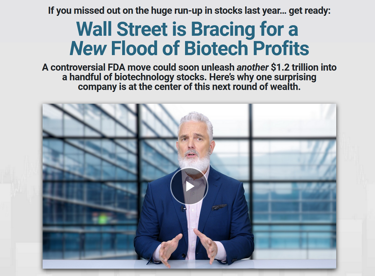 Jeff Brown's #1 FDA Guaranteed Biotech Pick: Jeff Brown's Next King of Biotech