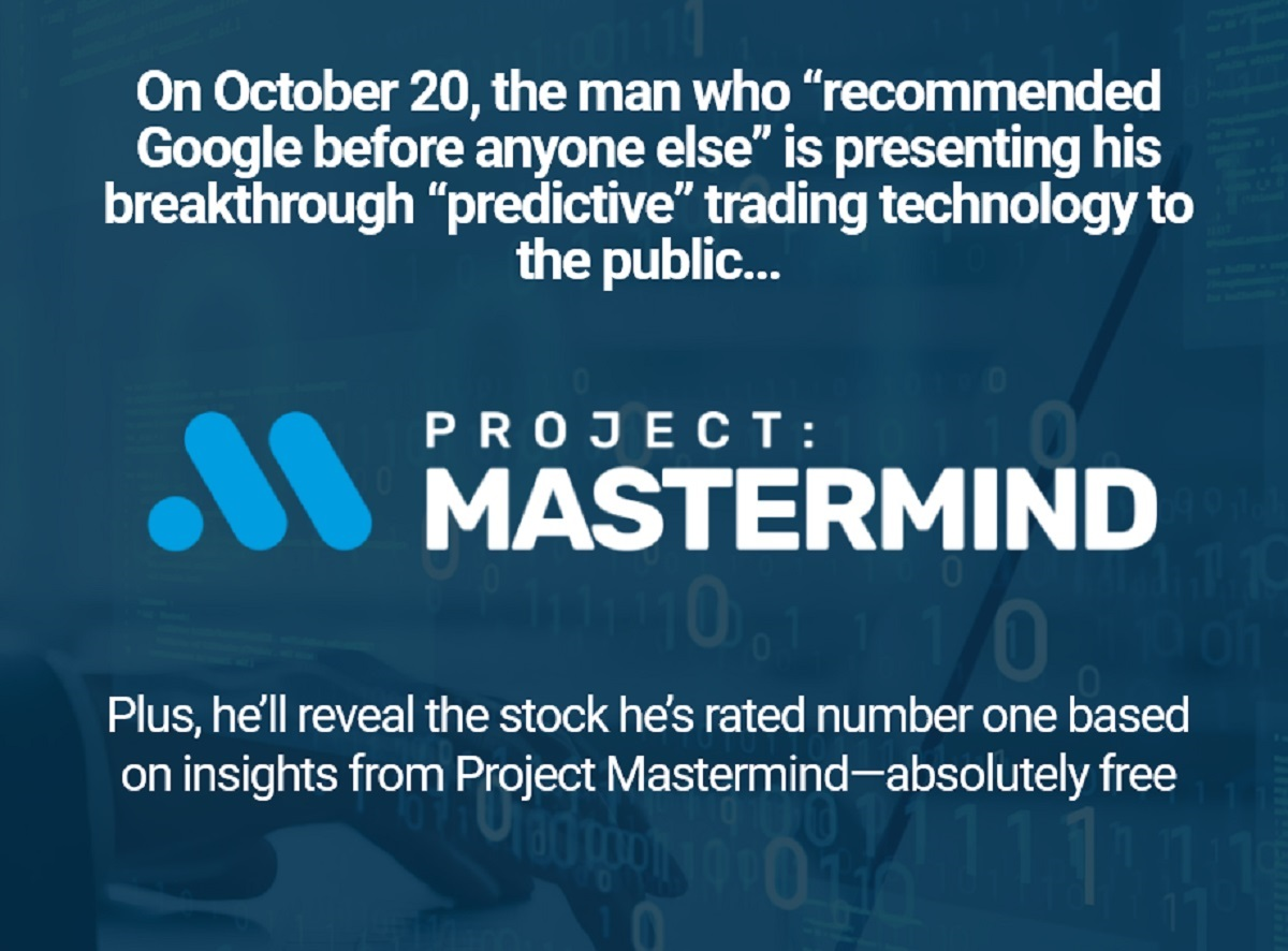 Louis Navellier's Project Mastermind 2021 Event