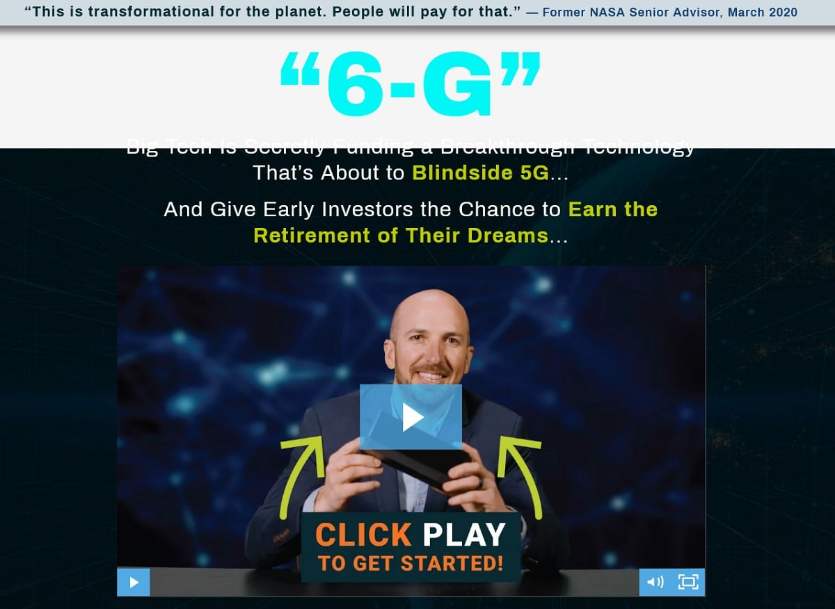 Andy Snyder's Ultimate 6G Profits Plan