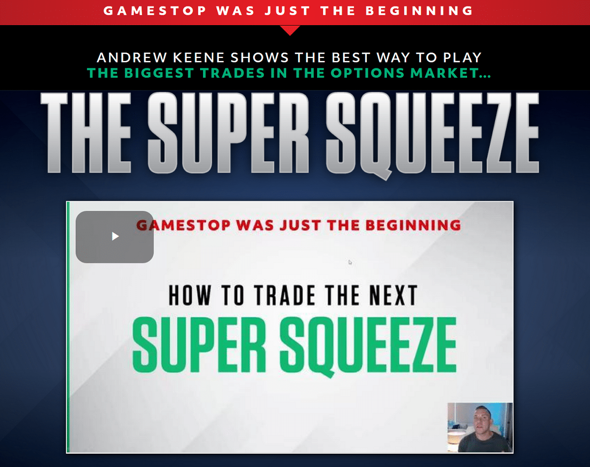 Super Squeeze Profits Review – Is Andrew Keene's Service Good?