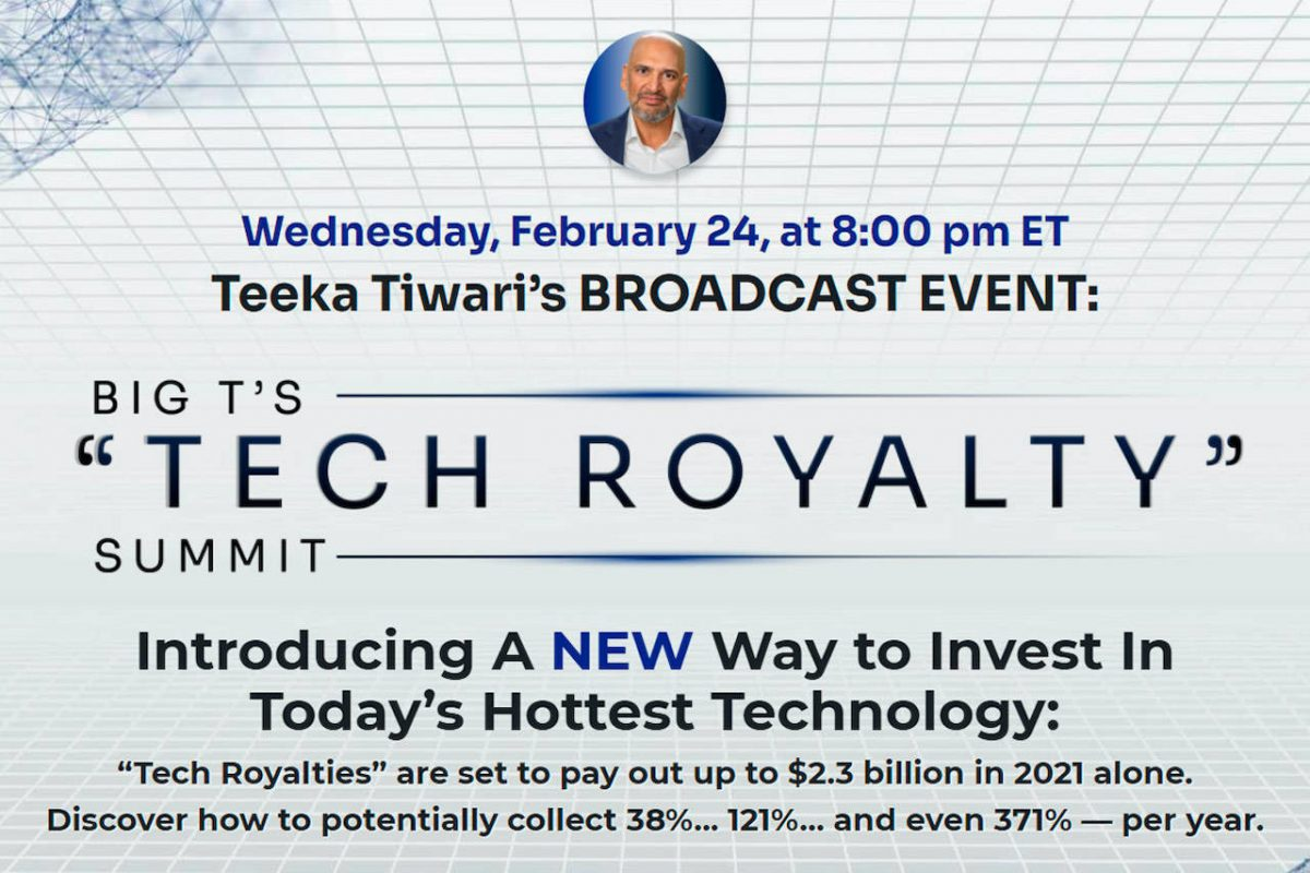 Teeka Tiwari Tech Royalty Summit: Big T Reveals An Explosive Crypto Trend
