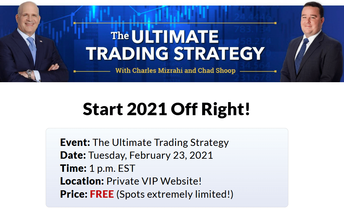 The Ultimate Trading Strategy with Charles Mizrahi and Chad Shoop