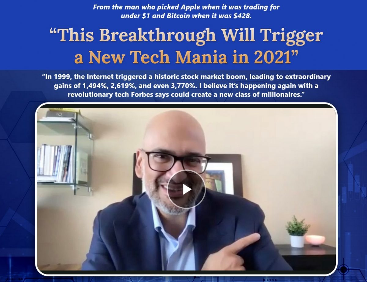 What Is Teeka Tiwari's #1 Way To Play This Tech Boom: Palm Beach Letter Report