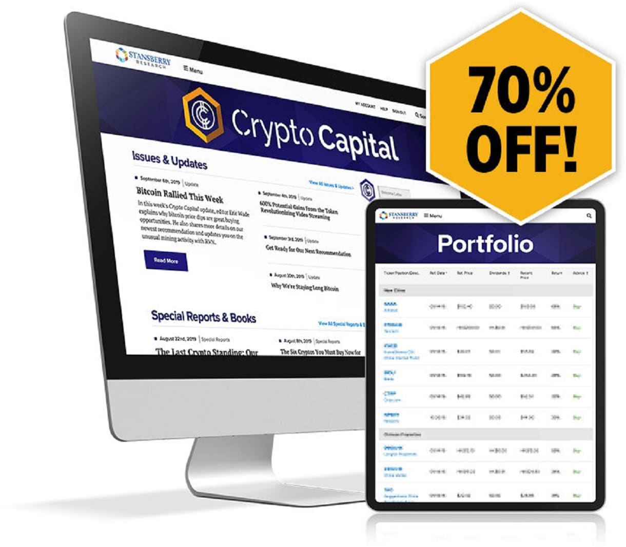 Eric Wade's Crypto Capital Review - 70% OFF
