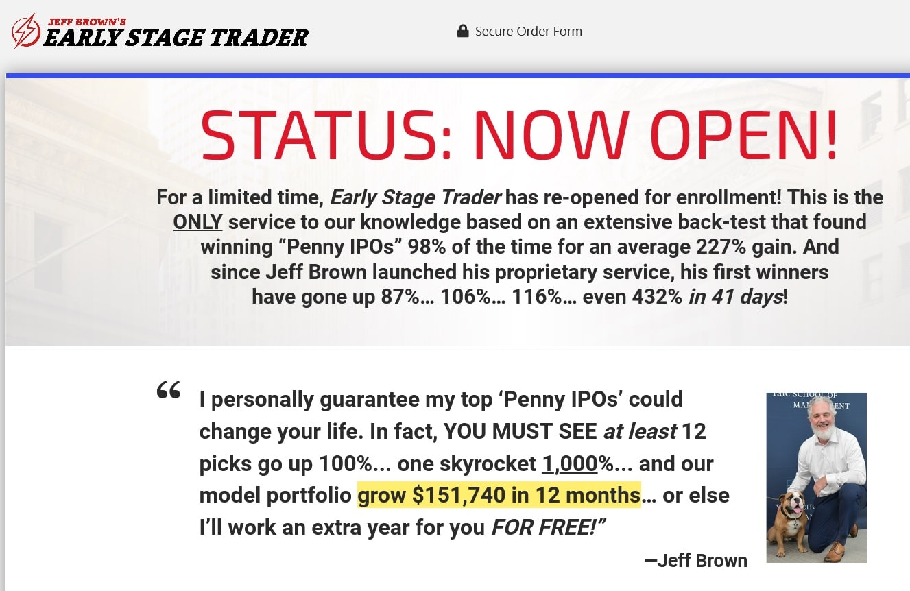 Jeff Brown's Top 3 Penny IPOs of2021