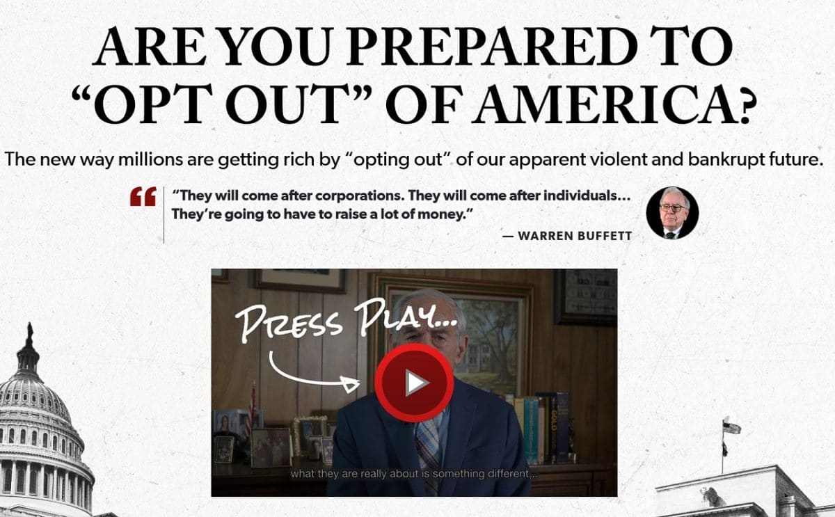 "Ron Paul's ""Opt Out"" of America Presentation – Is It Legit?"