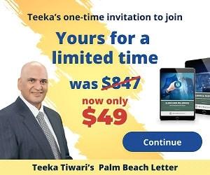Teeka Tiwari Palm Beach Letter Review