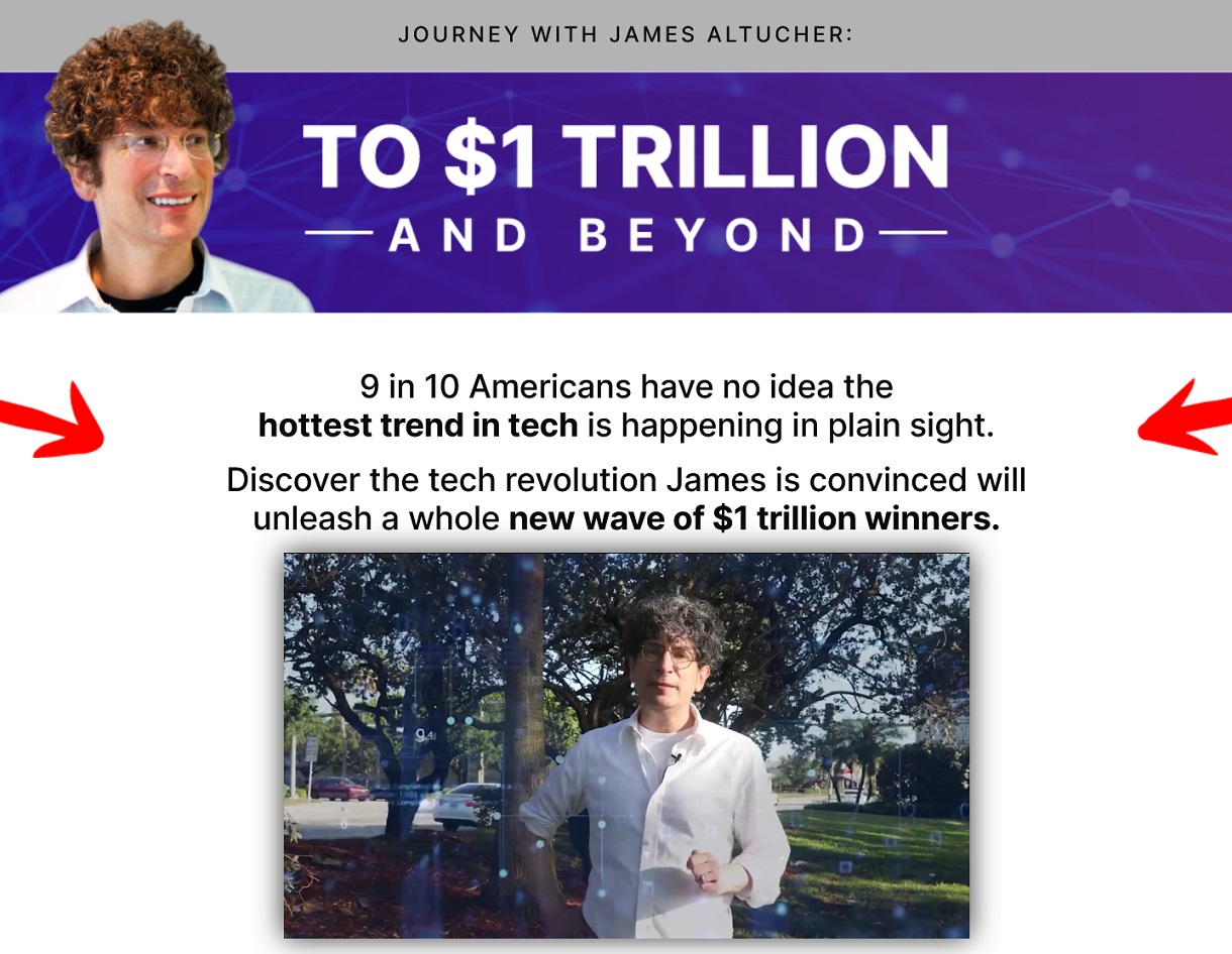 James Altucher's To $1 Trillion And Beyond