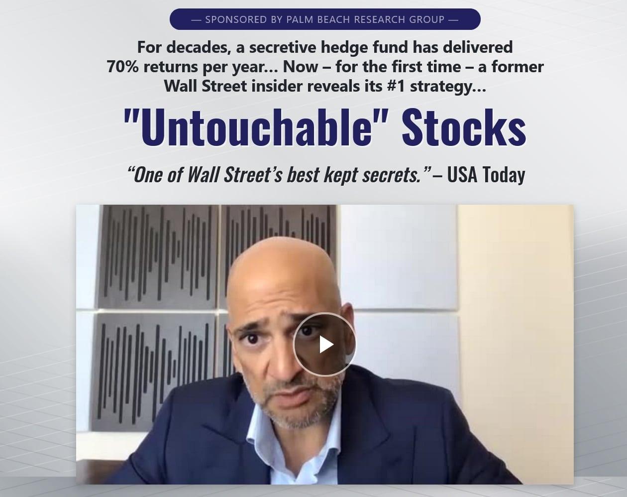 Teeka Tiwari Untouchable Stocks