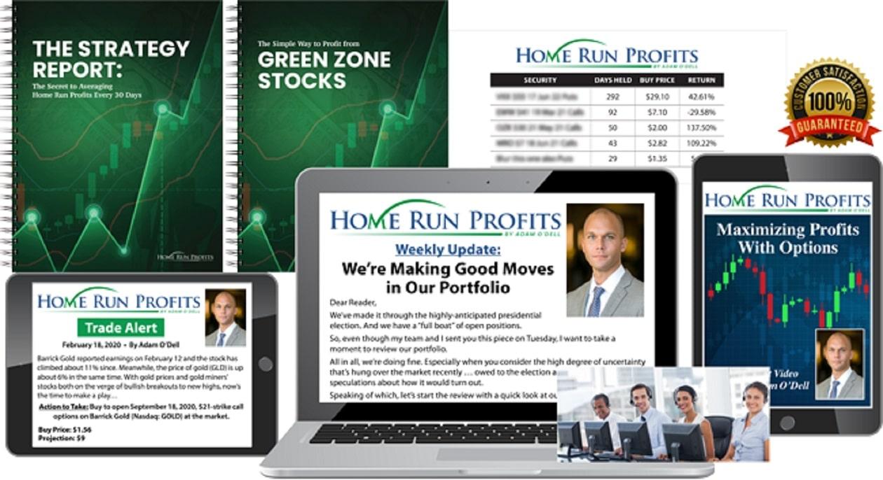 Adam O'Dell's Home Run Profits Review