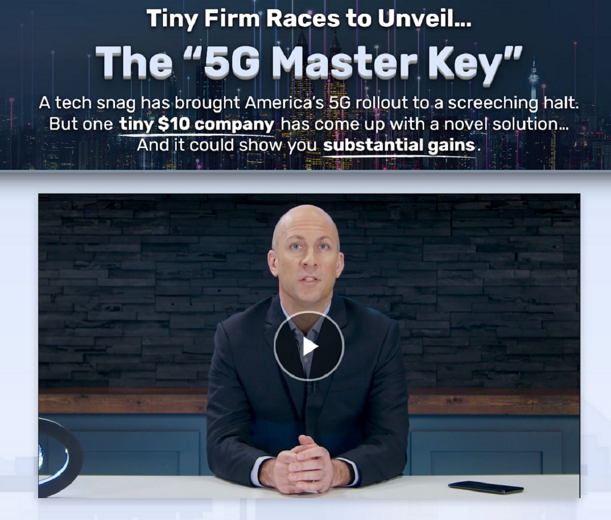 Dave Forest The 5G Master Key