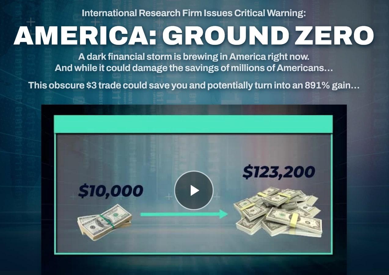 Nick Giambruno's $3 Crisis Trade