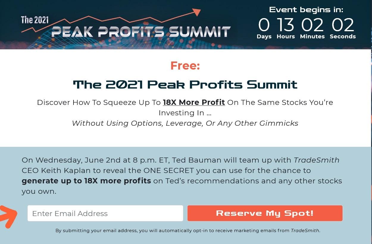 The 2021 Peak Profits Summit