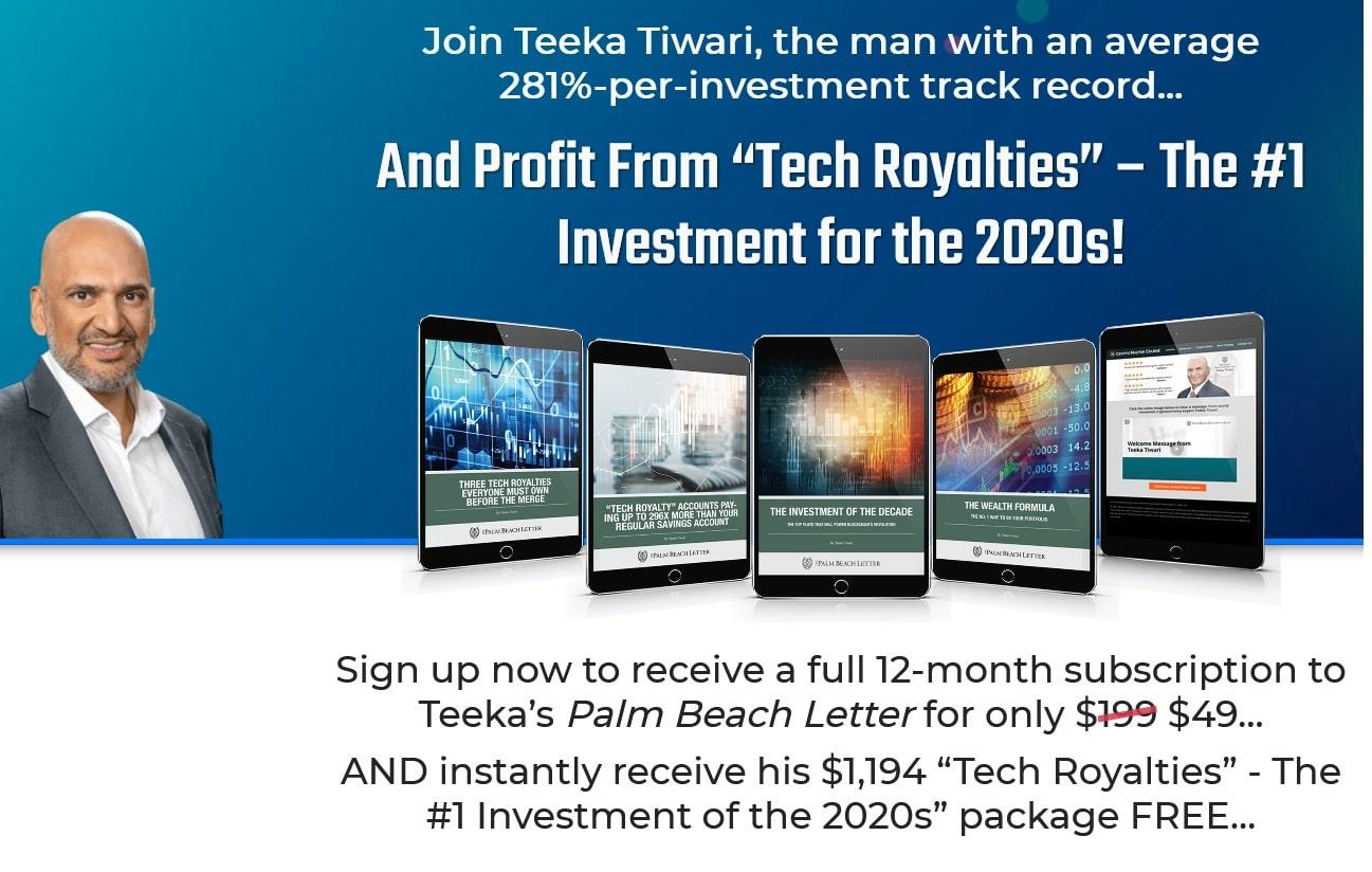 Teeka Tiwari Tech Royalty Crypto Retirement Blueprint