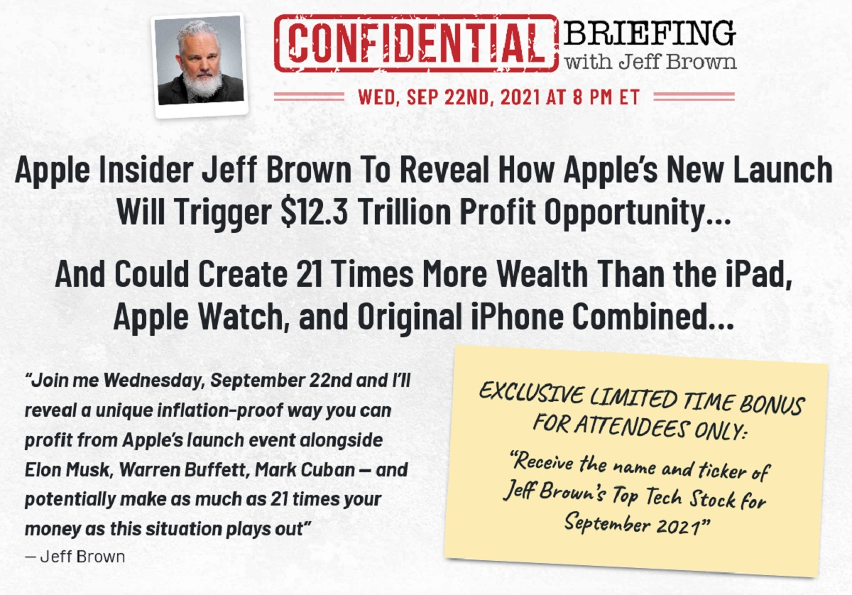 Jeff Brown's Confidential Briefing Review