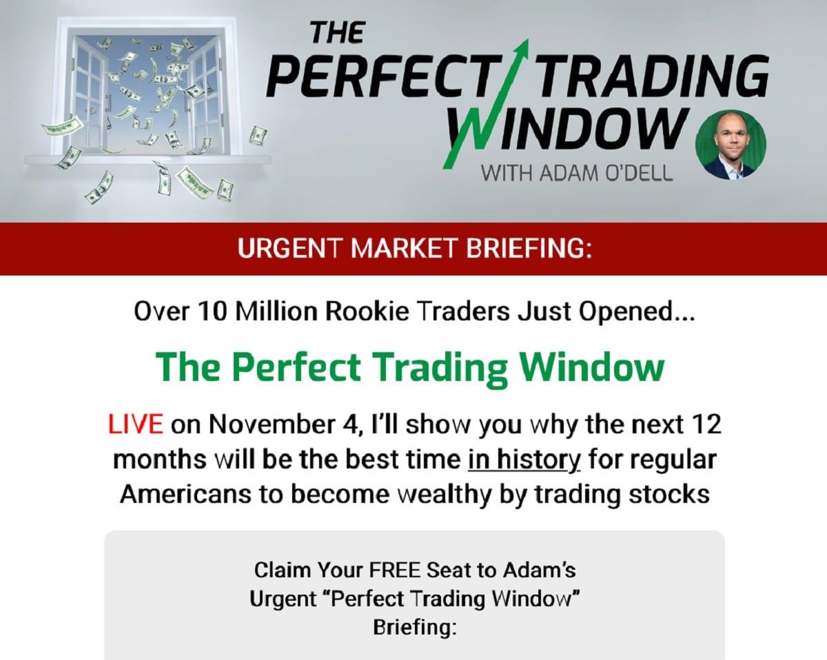 Adam O'Dell Perfect Trading Window Review