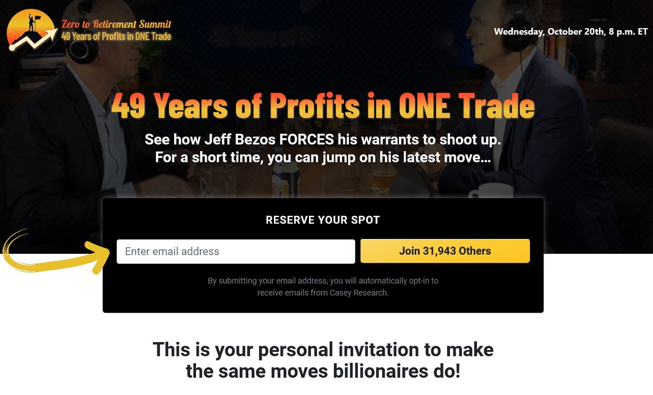 Dave Forest Zero to Retirement Summit Review