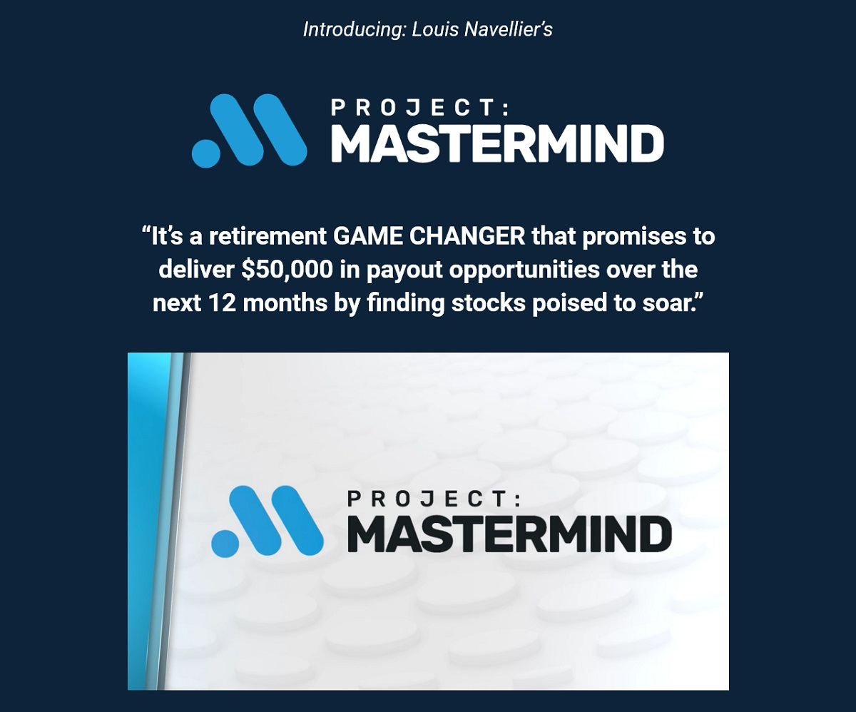 Louis Navellier's #1 Stock for 2022 - Project Mastermind Research