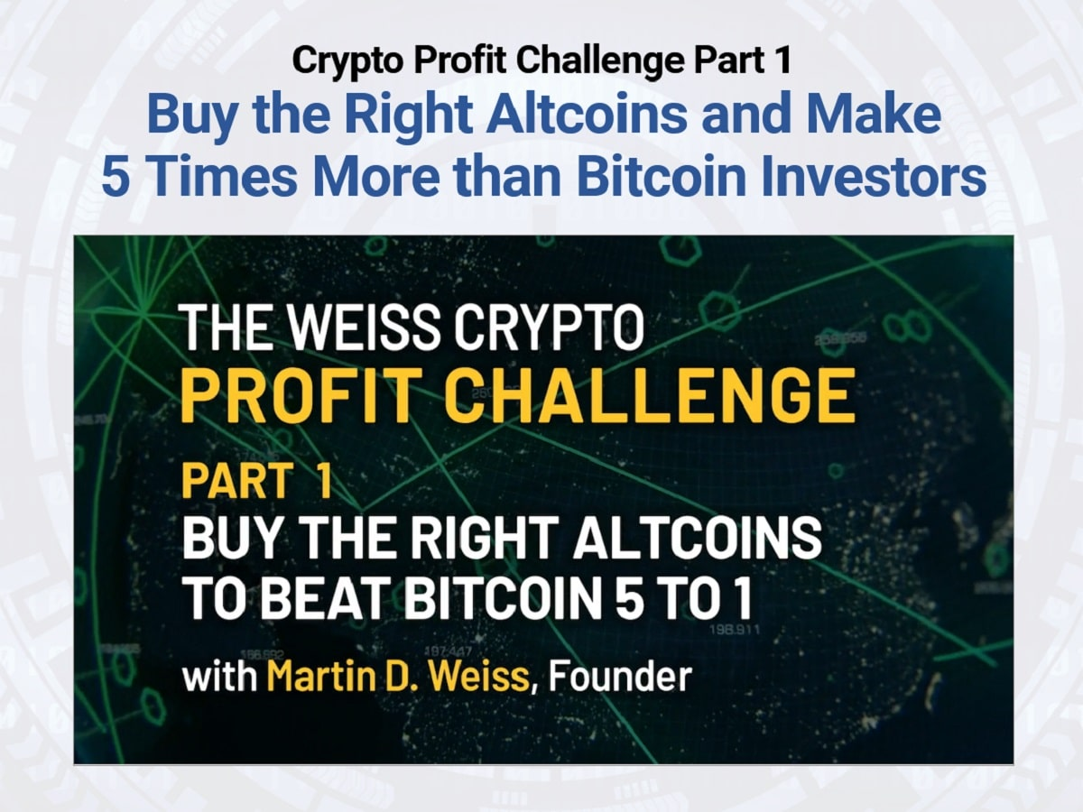 Weiss Crypto Profit Challenge Review